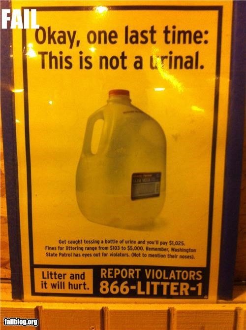 failboat jug poster sign urinal wait what - 4145050880