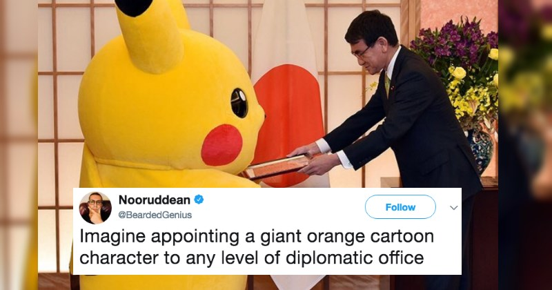 Japan Appoints Pikachu and Hello Kitty as Ambassadors and We're Not Sure if This is Actually Real Life
