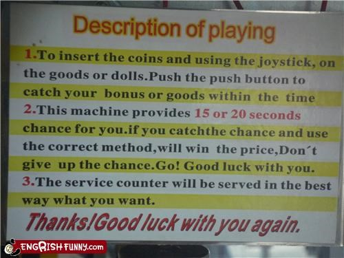 engrish,game,machine,play