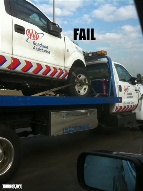 Roadside assistance fail Roadside assistance fail