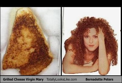 actress,bernadette peters,food,grilled cheese,sandwich,virgin mary