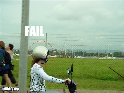 Helmet Fail