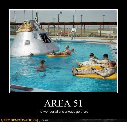 Aliens area 51 nasa space
