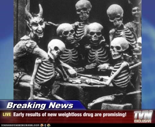 Breaking News - Early results of new weightloss drug are promising!