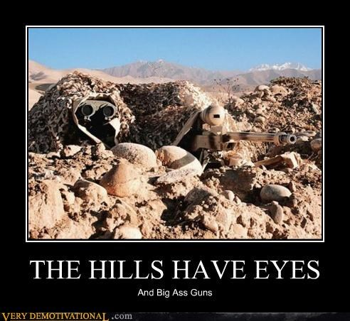 army guys binoculars camo guns hilarious hills have eyes movies