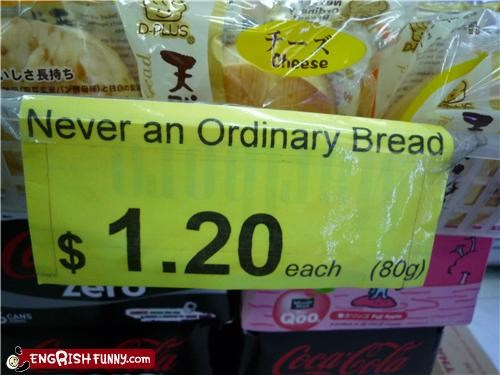 bread food ordinary sale