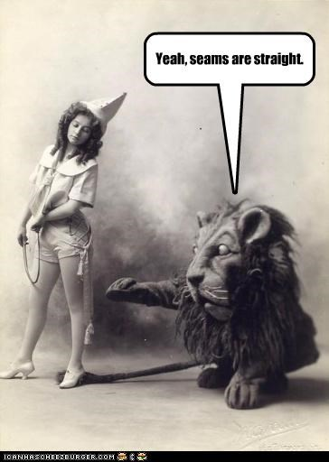 costume,girl,lion,seams,stockings