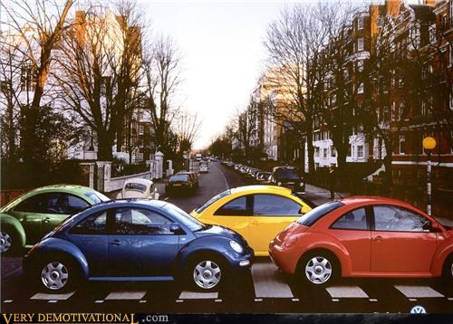 abbey road album art beetle Beetles car cover art driving the Beatles victory lap volkswagon - 4149524992