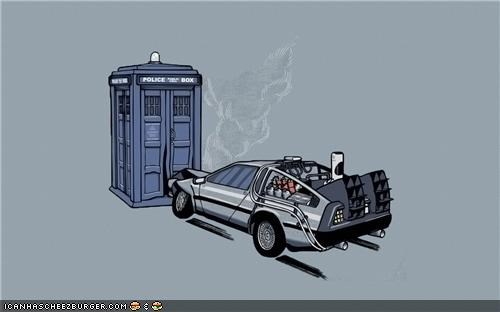 art back to the future doctor who Hall of Fame sci fi - 4149934592