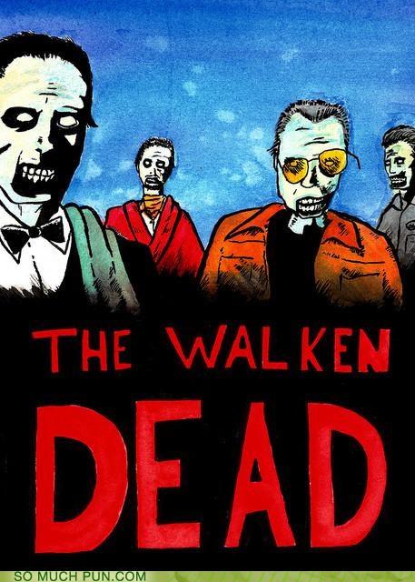 christopher walken dead The Walking Dead zombie - 4150101504