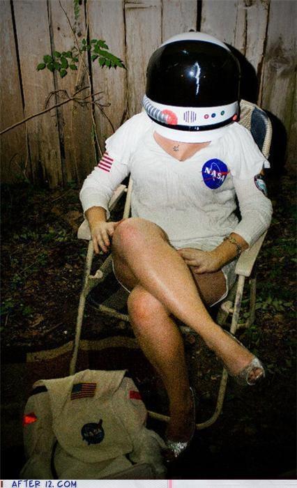 astronaut boobies costume helmet - 4150463744