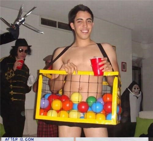 awesome balls clever costume - 4150480128