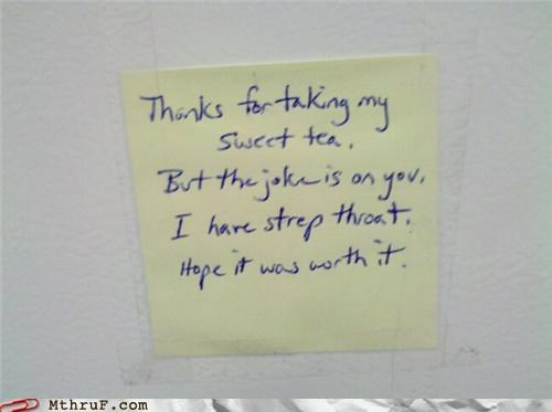 notes passive aggressive sweet tea thief - 4152368640