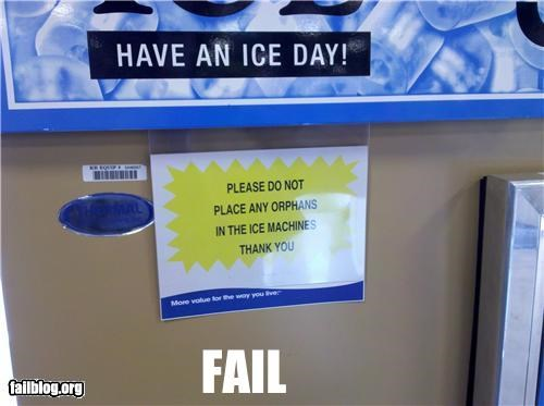 failboat ice oddly specific orphans thank you - 4152645632