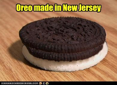 Oreo made in New Jersey - Cheezburger - Funny Memes | Funny Pictures