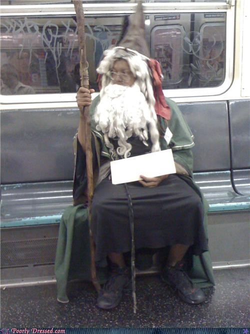 costume,Subway,wizard,wtf