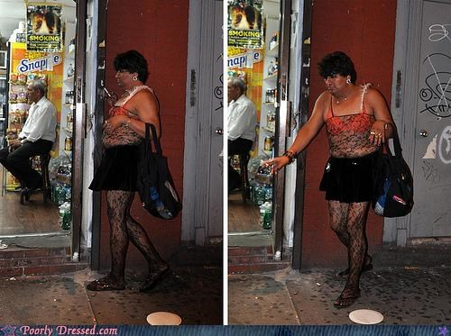duffel bag purse stockings tranny - 4153308672