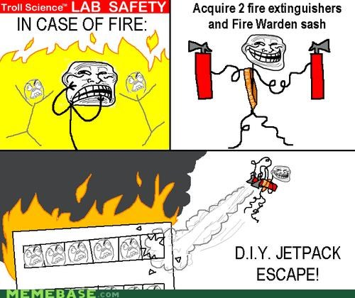 fire lab safety Memes troll science - 4153494528