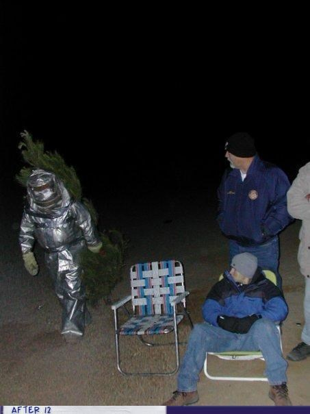 camping,radioactive,suit,tree