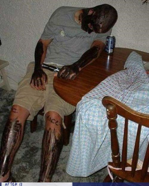 marker,passed out,tricked,wtf