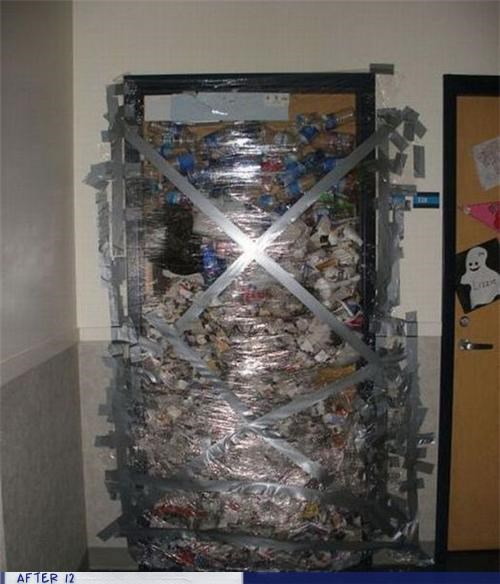 bottles door dorm wtf - 4154046720