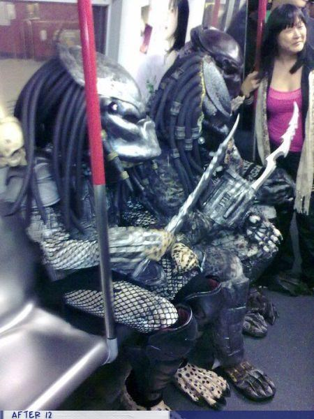 costume,predators,Subway,wtf