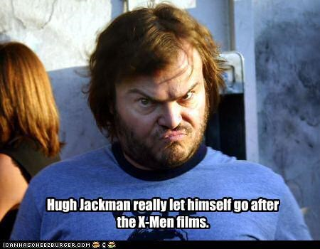 actor jack black lolz wolverine