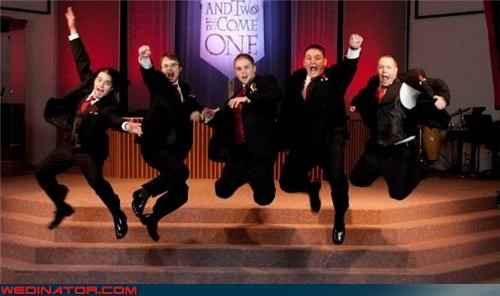 awesome jumping picture funny groomsmen picture funny wedding photos groom groom jumping grooms-force-five groomsmen jumping united groomsmen united wedding party - 4154668032