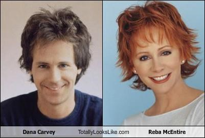 actor,dana carvey,reba mcentire,singer