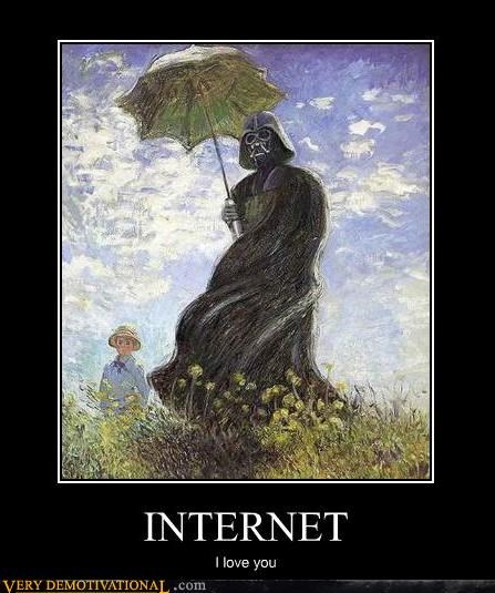 art awesome darth vader Hall of Fame painting star wars the internet - 4155125248