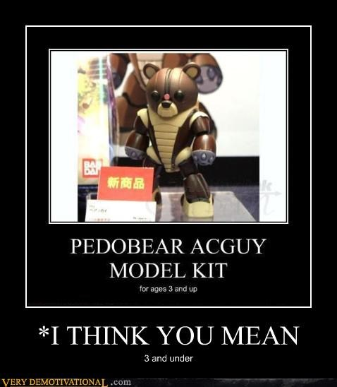 age irony kids toy model pedobear recursion - 4155216128