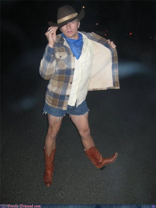 boots cowboy cutoffs eww thighs - 4155518976