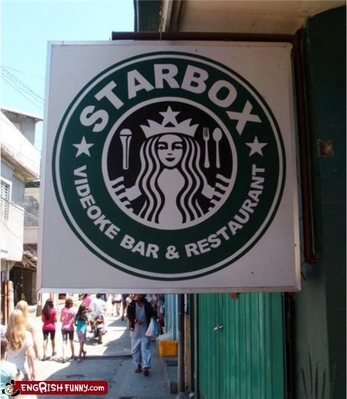 coffee copyright restaurant sign Starbucks