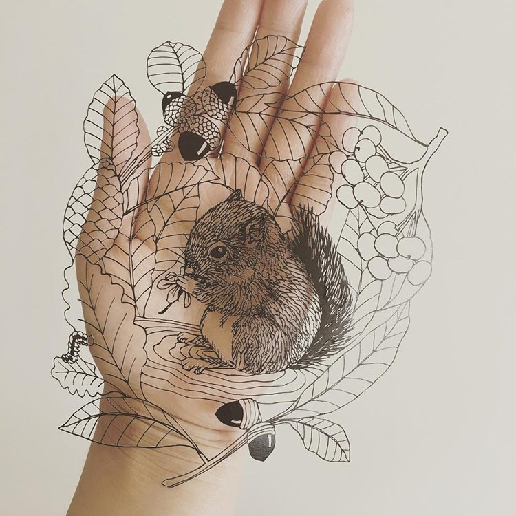a beautiful list of finely cut animals