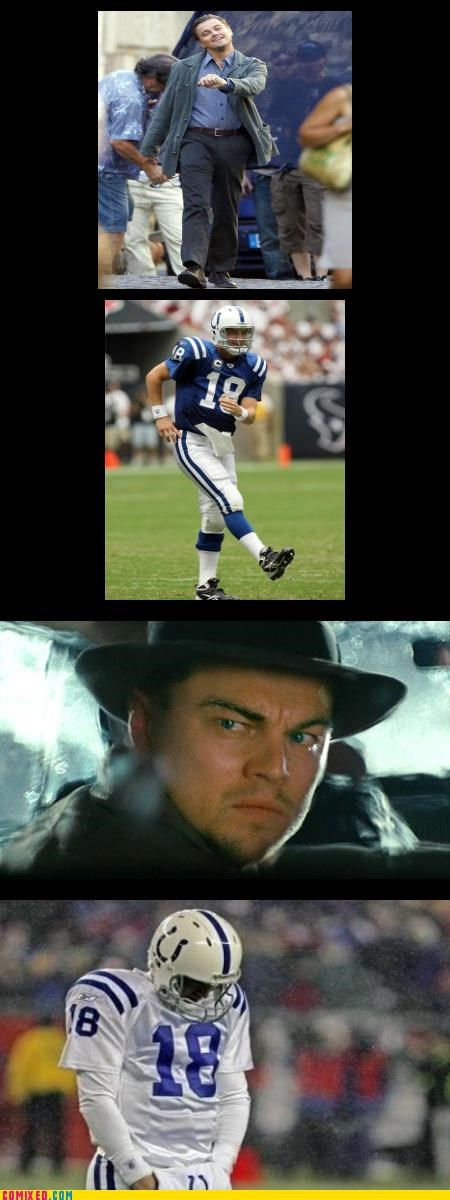 football From the Movies leonardo dicaprio lol sports stealing TV walking - 4156640000