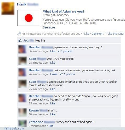 facepalm fail at life listen to your friends really yikes your friends are laughing at you - 4157275904
