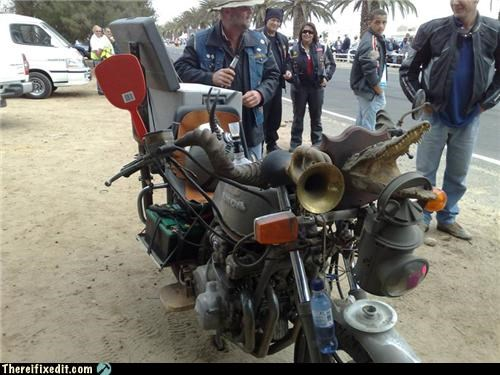 Mad Science Monday motorcycle wtf - 4157360384