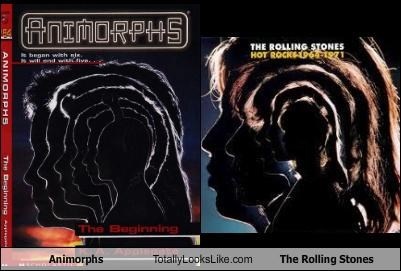 albums animorphs books covers rolling stones - 4157515264