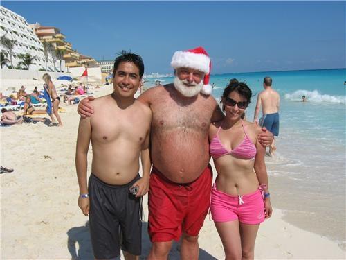 beach,FTW,santa,shorts