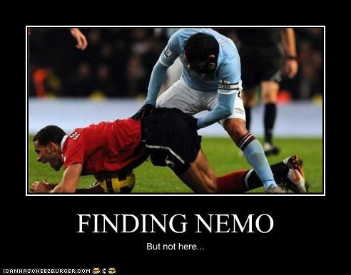 FINDING NEMO But not here...