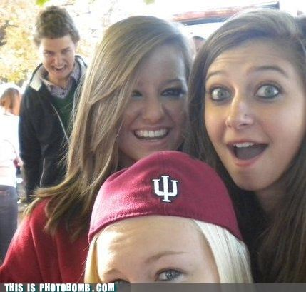 cool bro,ladies,oh behave,photobomb