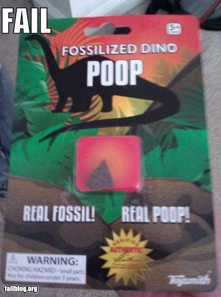 dinosaurs failboat fossils poop rated g thats-not-science toys