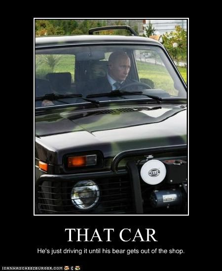 demotivational funny lolz Vladimir Putin vladurday - 4159597568