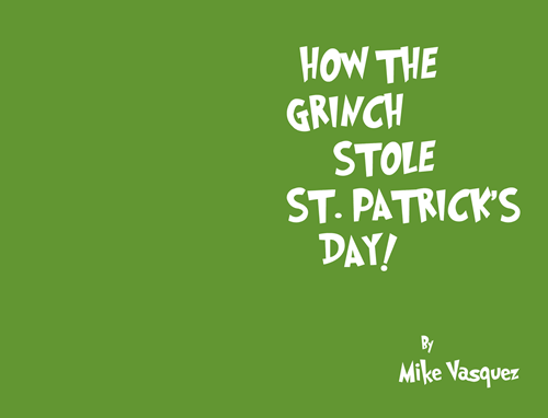 St Patrick's Day grinch funny - 416005