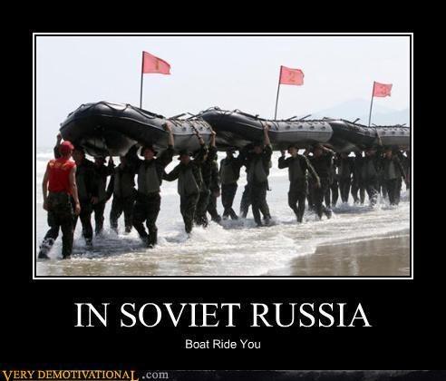 ride boat Soviet Russia - 4160142080