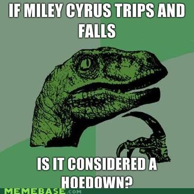hanna montana Memes miley cyrus philosoraptor - 4160159744