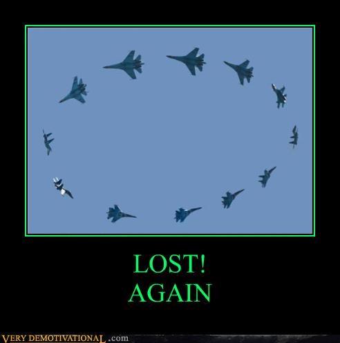 LOST! AGAIN