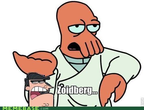 dinkleberg FOP futurama Memes Zoidberg - 4161867520