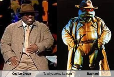 cee-lo green raphael singer teenage mutant ninja turtles TMNT - 4162576640