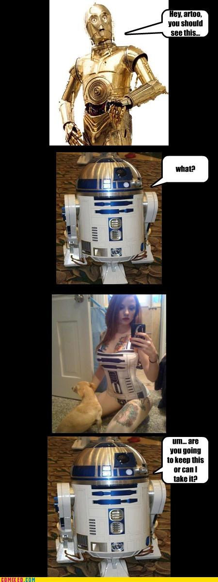 babes c3p0 fap gay jokes jk r2d2 star wars - 4163368192